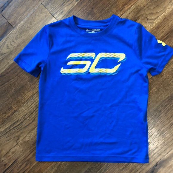 3959d8f1d Under Armour Shirts & Tops | Steph Curry Underarmour Boys Tshirt ...